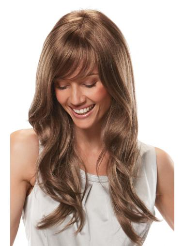 Cheap Synthetic Lace Front Wigs With Bangs Lace Front Long Length