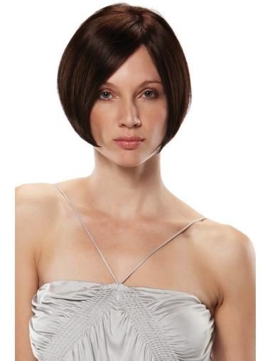 Synthetic Lace Wigs UK Sale Short Length Auburn Color Bobs Cut