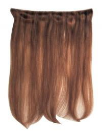 Straight Remy Human Hair Auburn Comfortable Weft Extensions