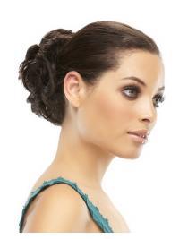 Brown Human Hair Wrap
