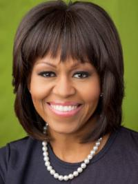 """Lace Front With Bangs Chin Length Straight 10"""" Black High Quality First Lady Wigs"""