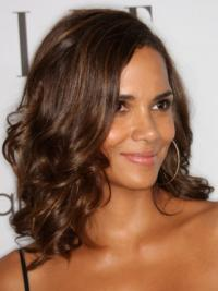 "Lace Front Wavy Layered Shoulder Length Soft 14"" Halle Berry Wigs"