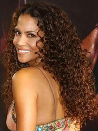"Lace Front Curly Layered Long Great 14"" Halle Berry Wigs"