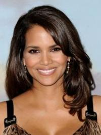 """Lace Front Wavy Layered Long Exquisite 16"""" Halle Berry Wigs"""