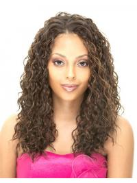 Long Blonde Curly Without Bangs Popular African American Wigs
