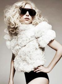 "18"" Amazing Long Curly Layered Lady Gaga Wigs"