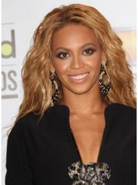 "Long Wavy Without Bangs Capless 21"" New Beyonce Wigs"