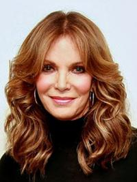 """Long Wavy Without Bangs Lace Front Brown Fabulous 16"""" Jaclyn Smith Wigs"""