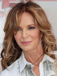 """Long Wavy Layered Full Lace Brown Great 18"""" Jaclyn Smith Wigs"""