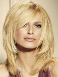 Blonde Mono Top Wig UK With Remy Human Lace Front
