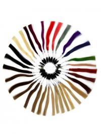 Human Hair Colour Rings