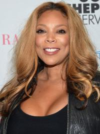 Wigs Like Wendy Williams Remy Human With Capless Wavy Style