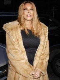 """Without Bangs Straight Blonde 18"""" Modern Wendy Williams Wigs"""