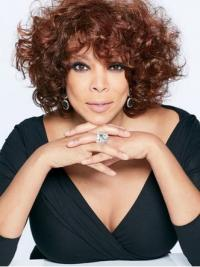 "With Bangs Curly Auburn 10"" Trendy Wendy Williams Wigs"