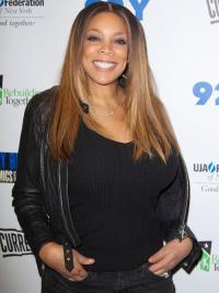 """Without Bangs Straight Ombre/2 Tone 18"""" Durable Wendy Williams Wigs"""