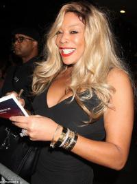 """Without Bangs Wavy Blonde 20"""" Ideal Wendy Williams Wigs"""