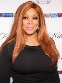 """Without Bangs Straight Blonde 20"""" Good Wendy Williams Wigs"""