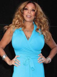 """Without Bangs Wavy Blonde 20"""" Incredible Wendy Williams Wigs"""
