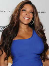 Wendy Williams Style Lace Front Wigs Remy Human Ombre/2 Color