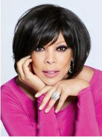 Wendy Williams Wig Maker With Bangs Full Lace Short Length