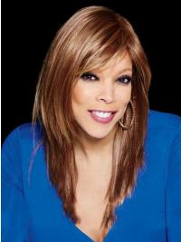 """With Bangs Straight Blonde 18"""" Affordable Wendy Williams Wigs"""