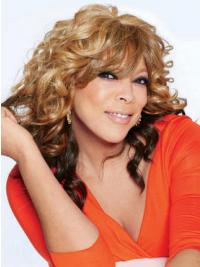 """With Bangs Wavy Ombre/2 Tone 14"""" Sassy Wendy Williams Wigs"""
