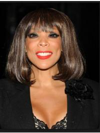 """Bobs Wavy Brown 12"""" Fabulous Wendy Williams Wigs"""